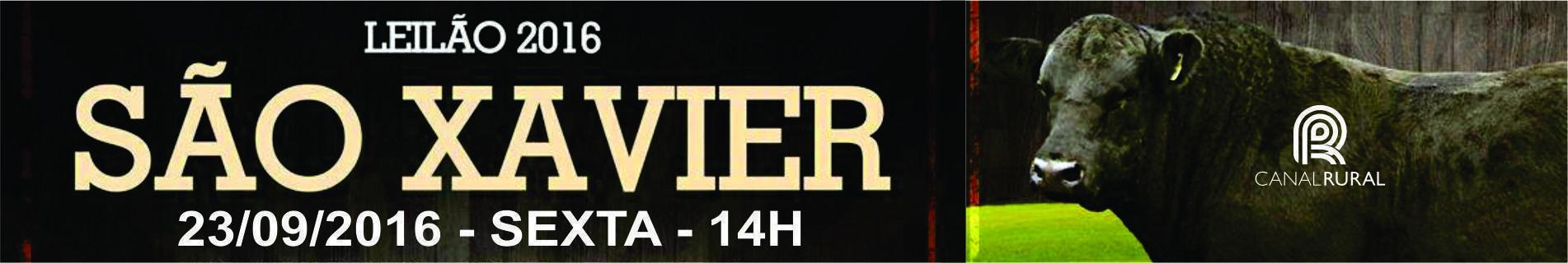 S�o Xavier 2016